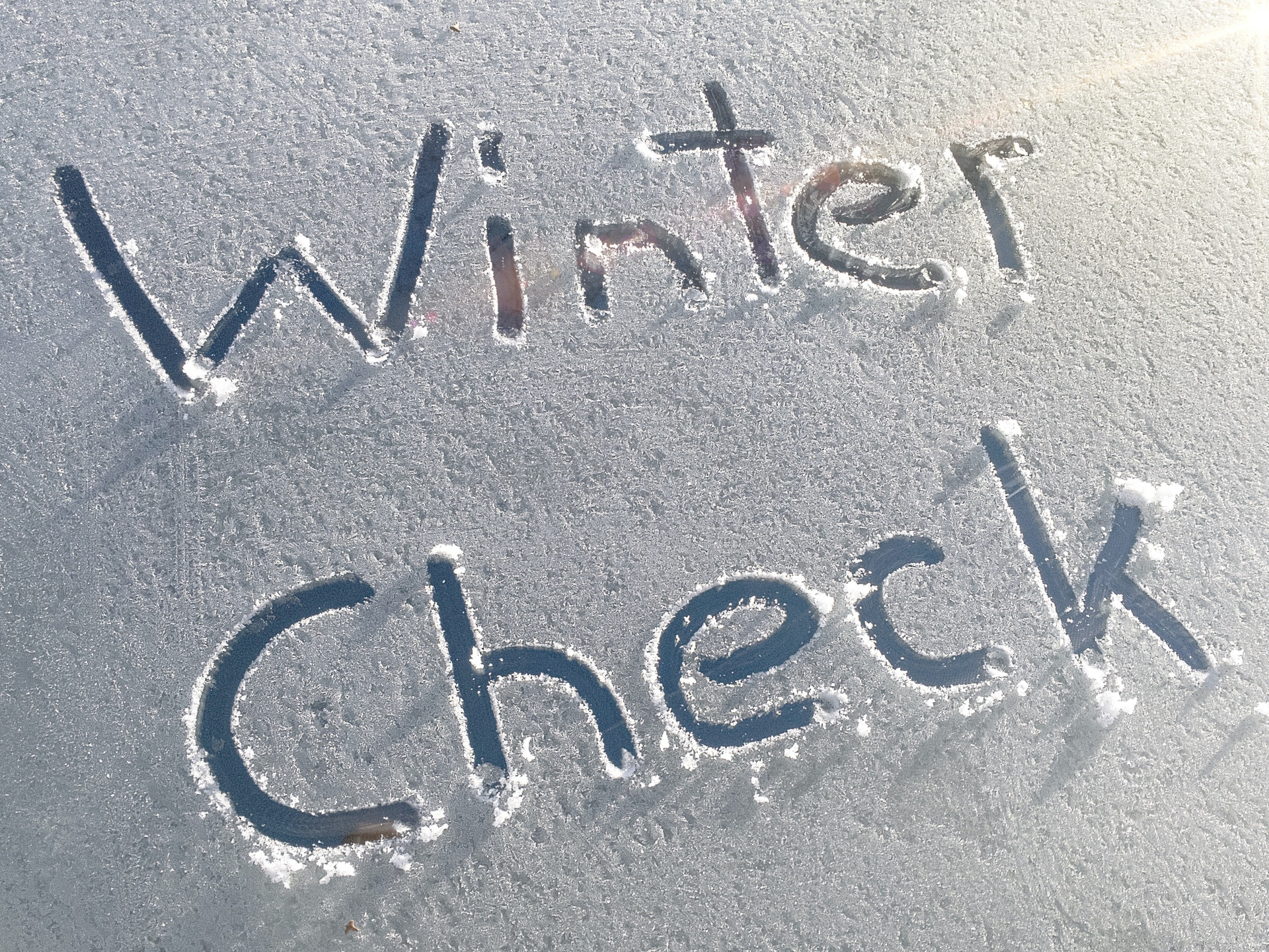 Winter Check at Links Automotive Macclesfield