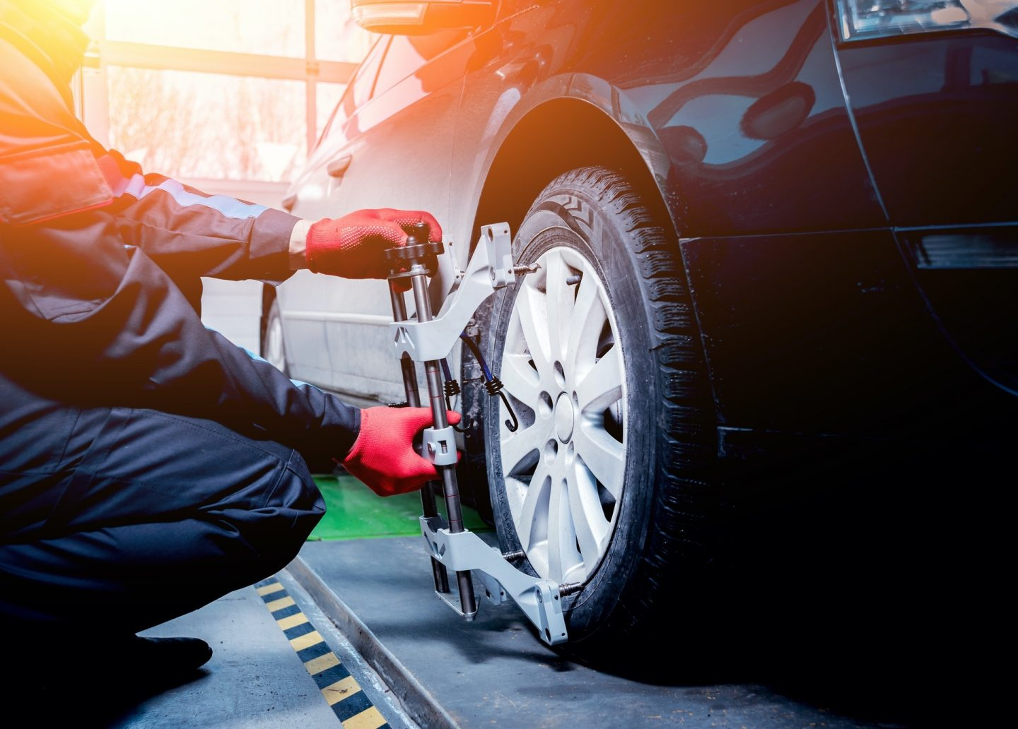 Wheel Alignment at Links Automotive Macclesfield